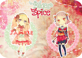 [OPEN] Sugar + Spice adopts by Staccatos