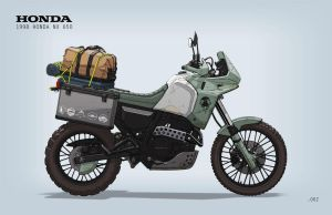 Garage Prospect No. 002: Adventure Bike by Stealthtiger