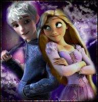 Ice Jack and Rapunzel by Venus-Mike-Adel-Leo