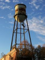 Abandoned water tower 01 by EileenGalvin