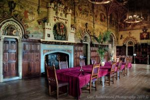 Cardiff Castle Banquet Hall by Rovanite