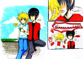 Craig x Tweek Story XD by Meitoku