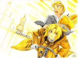 Fullmetal Alchemist Brothers: The Alchemist by Liamx7
