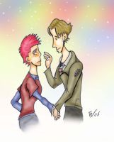 Lupin and Tonks - HP by Teensy