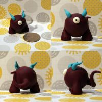 Uli the Timid Monster by TimidMonsters