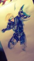 League of Legends: Pulsefire Ezreal by Kytru