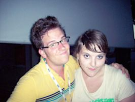 Andrew and I by beckyCHOKE