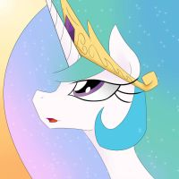 Princess Celestia Icon by BronyFang