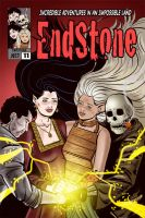 Endstone Issue 11 Cover by quillcrow