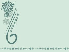 Holiday Wallpaper - Green by Cenestelle
