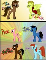 Tenth Doctor Ponies by AxelLikesToast