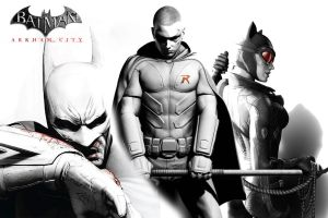 Batman Arkham City Wallpaper by ValanUchiha8214