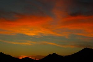 Dry Summer Sunset by PatGoltz