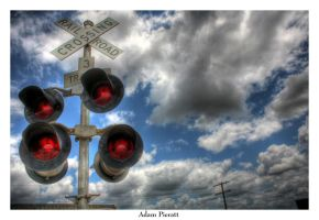 Railroad Crossing by Adam-Pieratt