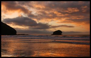 Evening Glow by Kernow-Photography