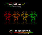 Inkscape 0.47 -  ScreenContest by harrypopof