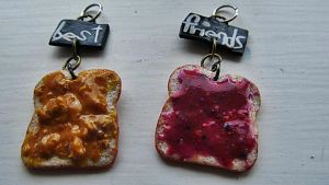 PB and J Bestfriends Charms by damnheliotrope