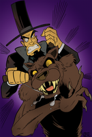Lincoln Hates Werewolves by nightlink