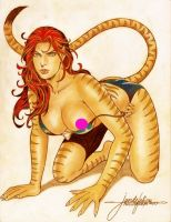 TIGRA by JUN DE FELIPE ( 03302017 )B by rodelsm21