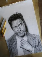 robert downey jr by bjenssen