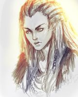 Aloy Sketch by lllannah