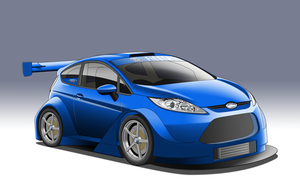 SuperT12 Race Series - Ford Fiesta by StylePixelStudios