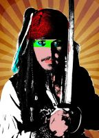 Pirates of the Caribbean: 1980's Pop Art by AskGriff
