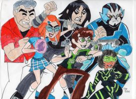 IT'S HERO TIME! BEN 10 OMNIVERSE (color) by VectorMagnus2011