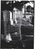 wire trash can by boomboxlovin
