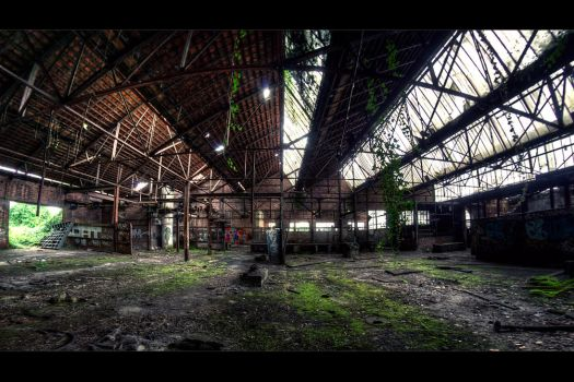 When industry goes green by bubus666