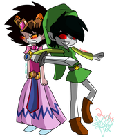 30 Day OTP Challenge ((day 7: cosplaying)) by X-Hopeless-Kitten-X