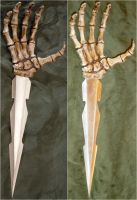 Skeletal Hand Dagger 2 Views by FantasyStock