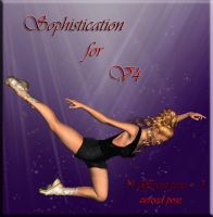 Sophistication - poses for V4 by la3digitalart