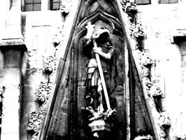 Gothic Cathedral Statue by Sarcasticyetsexy
