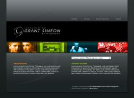 Grant Simeon web site by neverdying