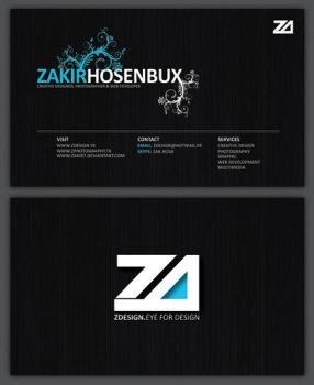 ZDesign Business Cards by zakir7