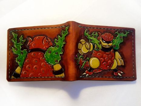 Morberry Pokesweet leather wallet by Bubblypies