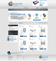 Iphone reparation by shark-graphic