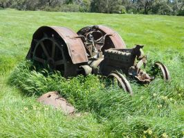 Old Tractor 002 - Hb593200 by hb593200