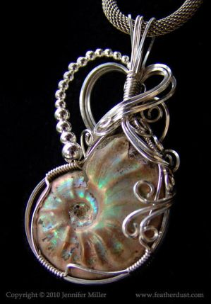 Chelsea's Ammonite Pendant by Nambroth