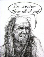 Devin Townsend Caricature by M-y-TH