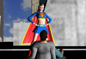 I AM SUPERGIRL by mangastargazer