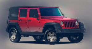 Jeep Rubicon by FCD94