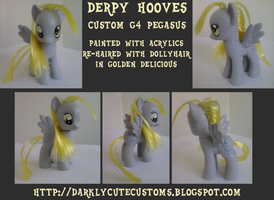 Derpy Hooves Custom 2 by Kanamai