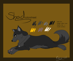 Shadow's colorsheet by Feyrah