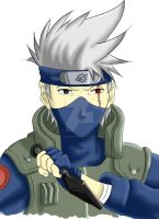 Kakashi by Spottedpath17