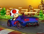 M.K.T.V. Toad's Car by hepz14