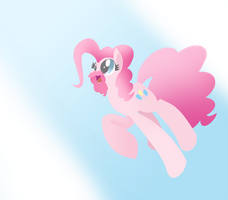 Bearded Pinkie Pie Transparent by DashieKitten