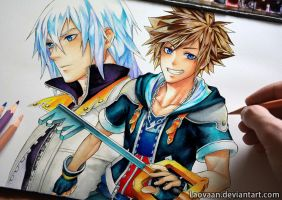 Not Kingdom Hearts 3 but still... by Laovaan