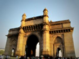 The Gate of India by AkuXi